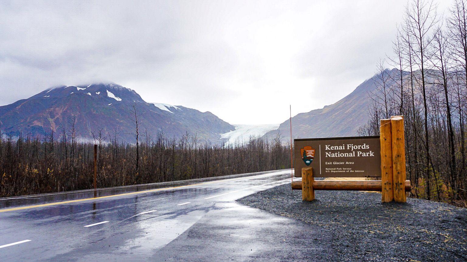 Exit Glacier Seward Alaska Kenai Fjords National Park Kenai Fjords Alaska