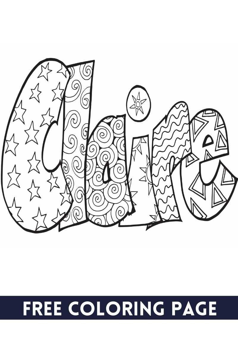 55 Most Popular Girl Names In 2020 Free Printable Coloring Pages For Each Stevie Doodles In 2021 Name Coloring Pages Coloring Pages Free Coloring Pages