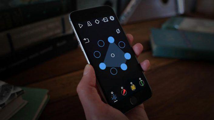 Geometric Music App Hace Beats complejos de la manera fácil