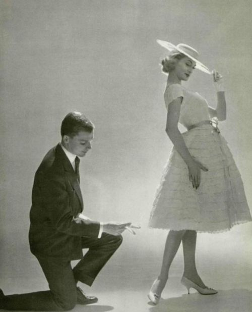 Fashion by Christian Dior, 1958 1950s Pinterest Christian dior