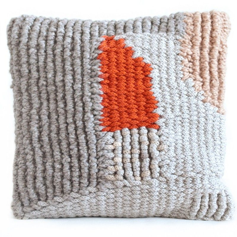 One of a kind cushion cover, pure wool. www.andreasteffen-shop.com/