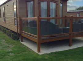 4 Seasons Lodge - Superb 2 bedroom Victory Lodge for hire on Par Sands Holiday Park.