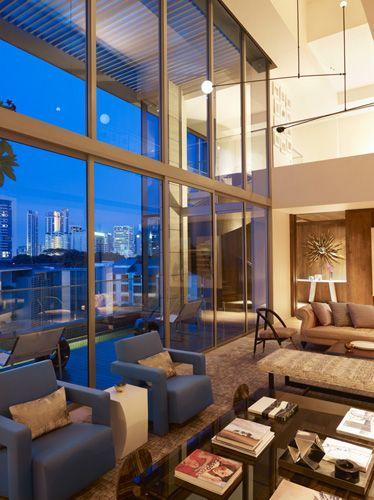 penthouse wohnung montreal designerin julie charbonneau, designer: sara story design client: singapore (residential) | sara, Design ideen