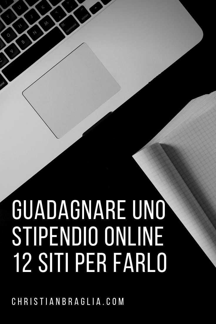Guadagnare Uno Stipendio Online 12 Siti Per Farlo Nel 2020 Idee