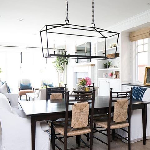Lighting that makes a statement! via @kellynuttdesign xo