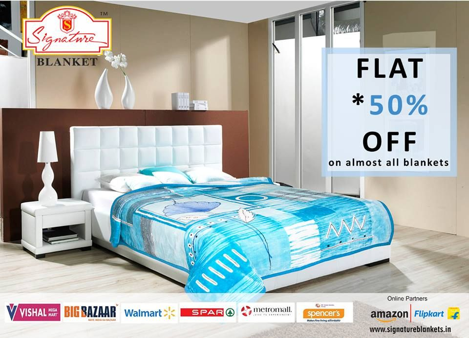 This Winter The Best Quality Soft Comfortable Warm Blankets Online In India From Www Signatureblankets We Offer Price For