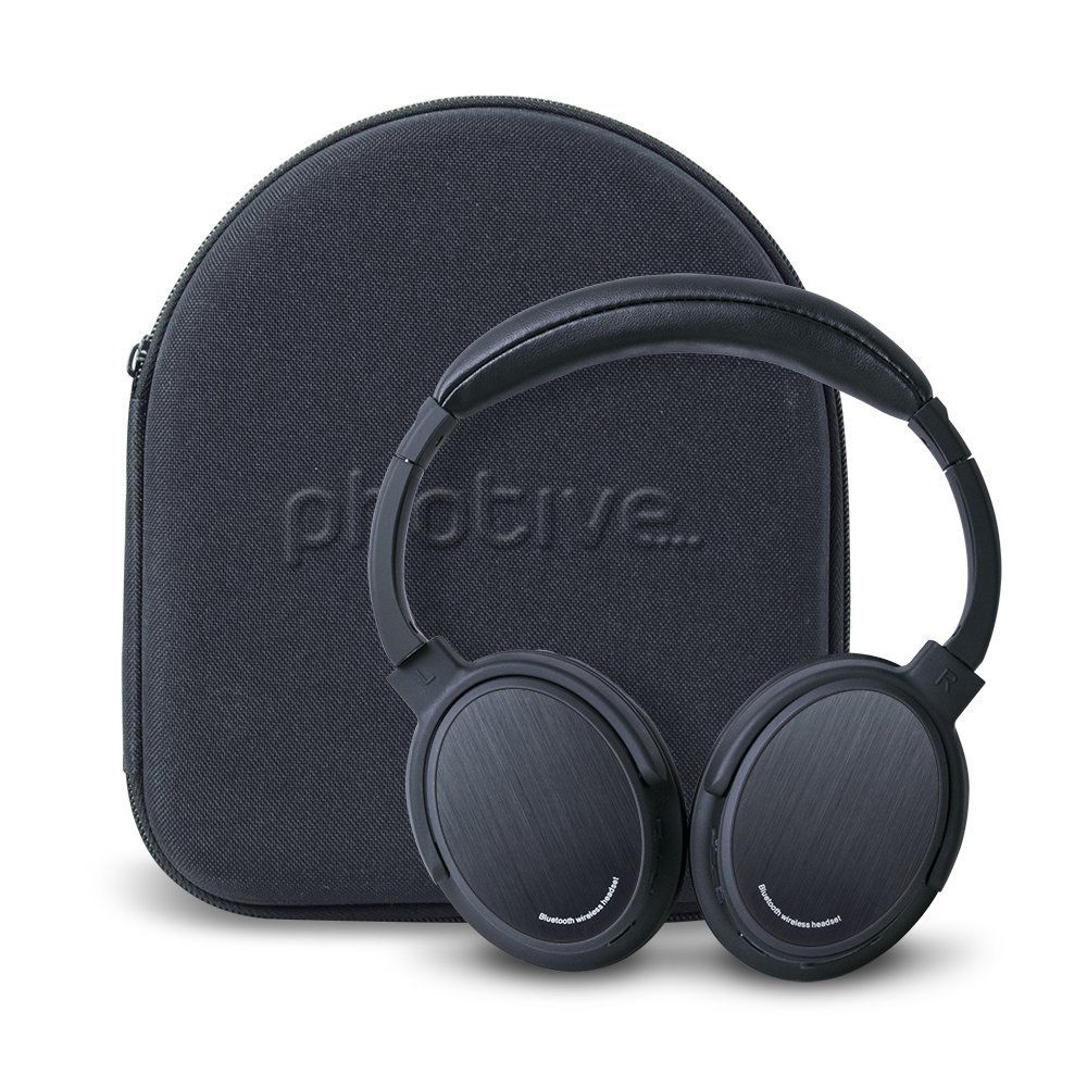 Amazon Com Photive Bth3 Over The Ear Wireless Bluetooth Headphones With Built In Mic And 12 Hour With Images Bluetooth Headphones Wireless Headphones Bluetooth Headphones