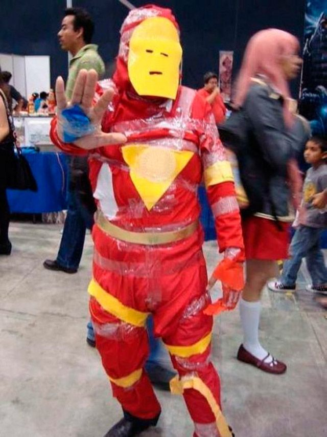 The Worst IRONMAN Cosplay. Ever.