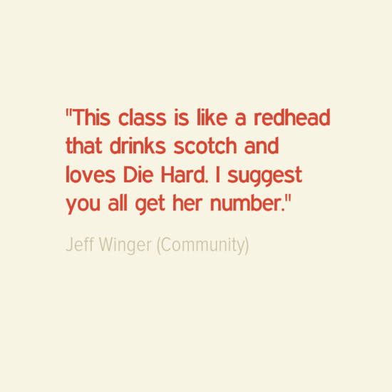 Quotes About Community Extraordinary Jeff Winger Quotes Community  Community  Pinterest  Community Design Decoration