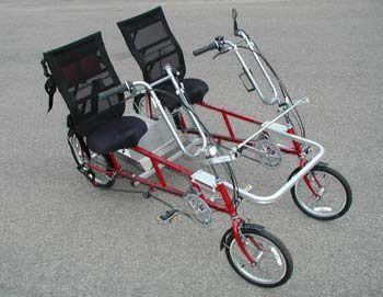 Quadribent Side By Side Recumbent Bikes Better Than