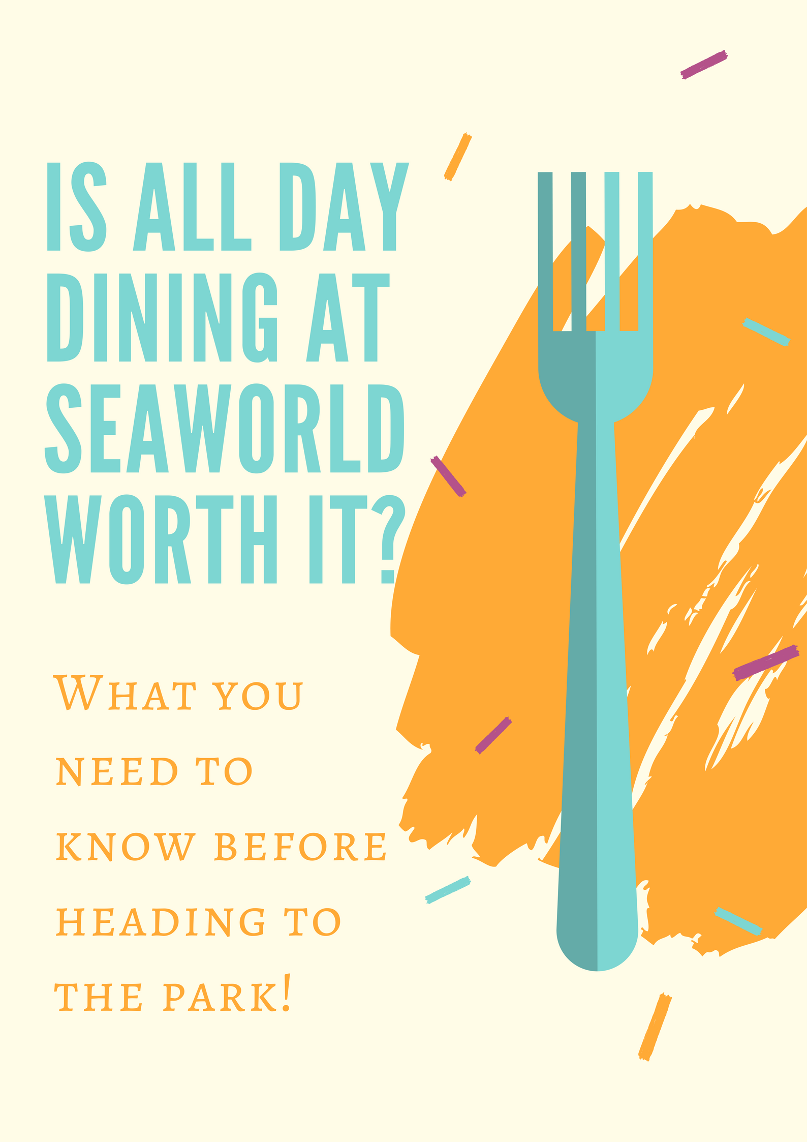 Is All Day Dining At Seaworld Worth It Sea World Seaworld San Antonio San Antonio Sea World