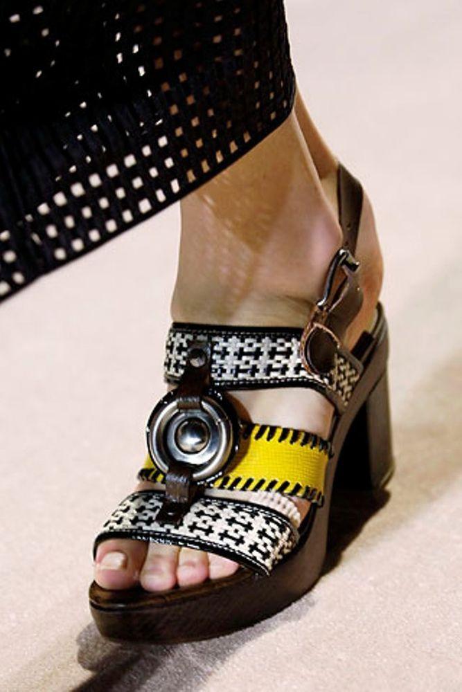 Marni Runway Platform Sandals 38 US8 #Marni #PlatformsWedges