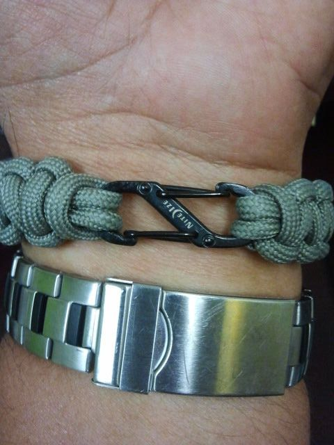 Replace Bulky Buckle On Paracord Bracelet With Images