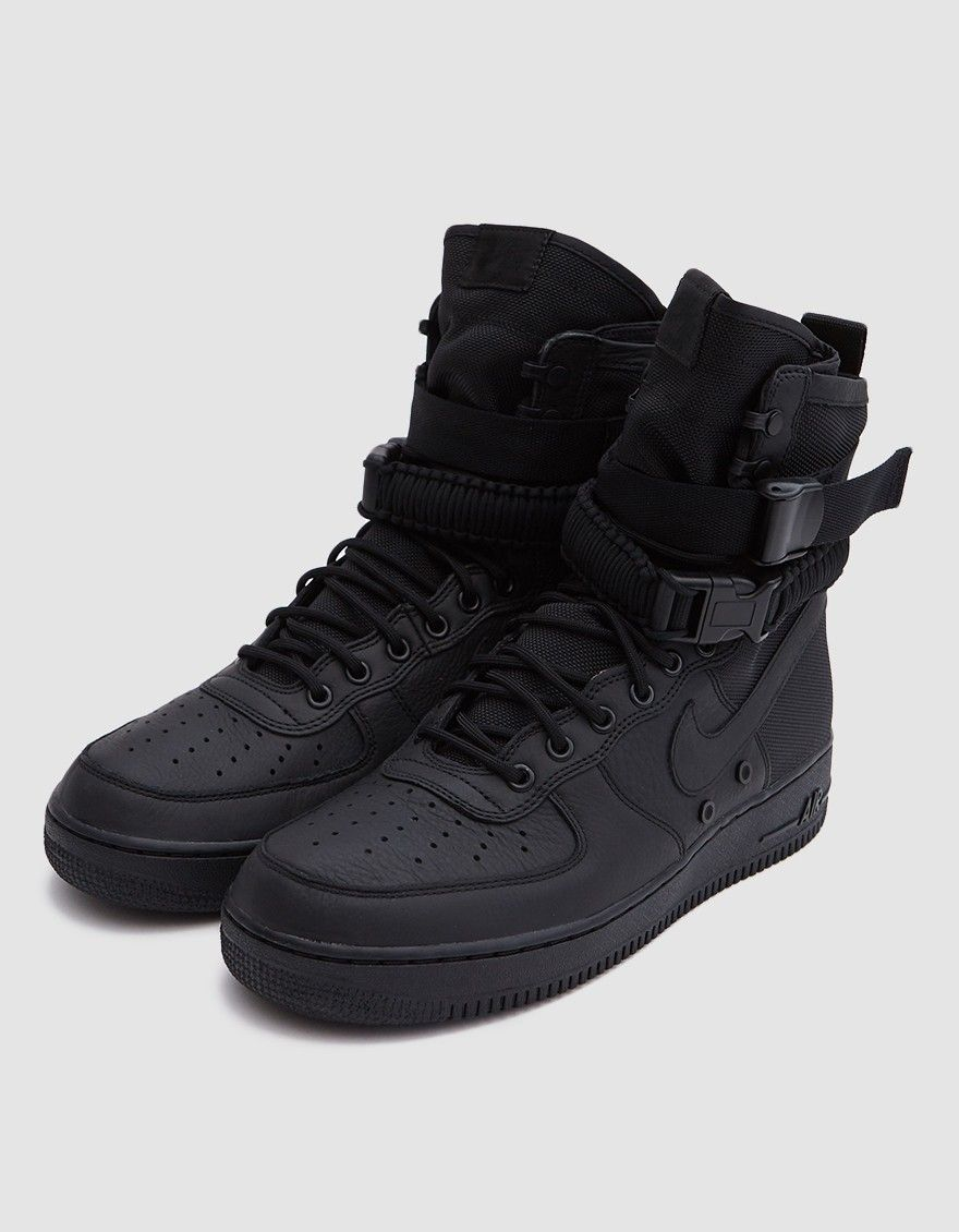 2019 original prix abordable nouveaux articles SF Air Force 1 in Black/Black | On Foot in 2019 | Nike air ...
