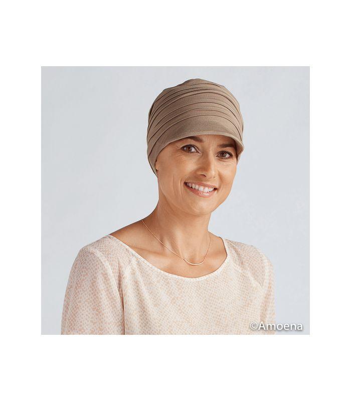 choisir officiel couleurs harmonieuses homme Casquette bambou sable - Tigerlily - Amoena | cancer du sein ...