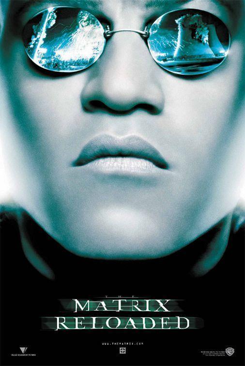 The Matrix Reloaded Movie Poster The Matrix Fan Art Matrix