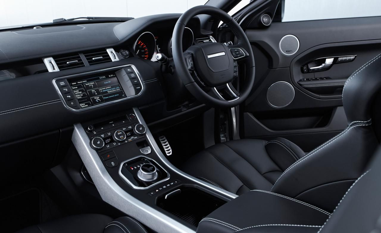 range rover interiors 2012 land rover range rover evoque 5 door interior cars voiture. Black Bedroom Furniture Sets. Home Design Ideas