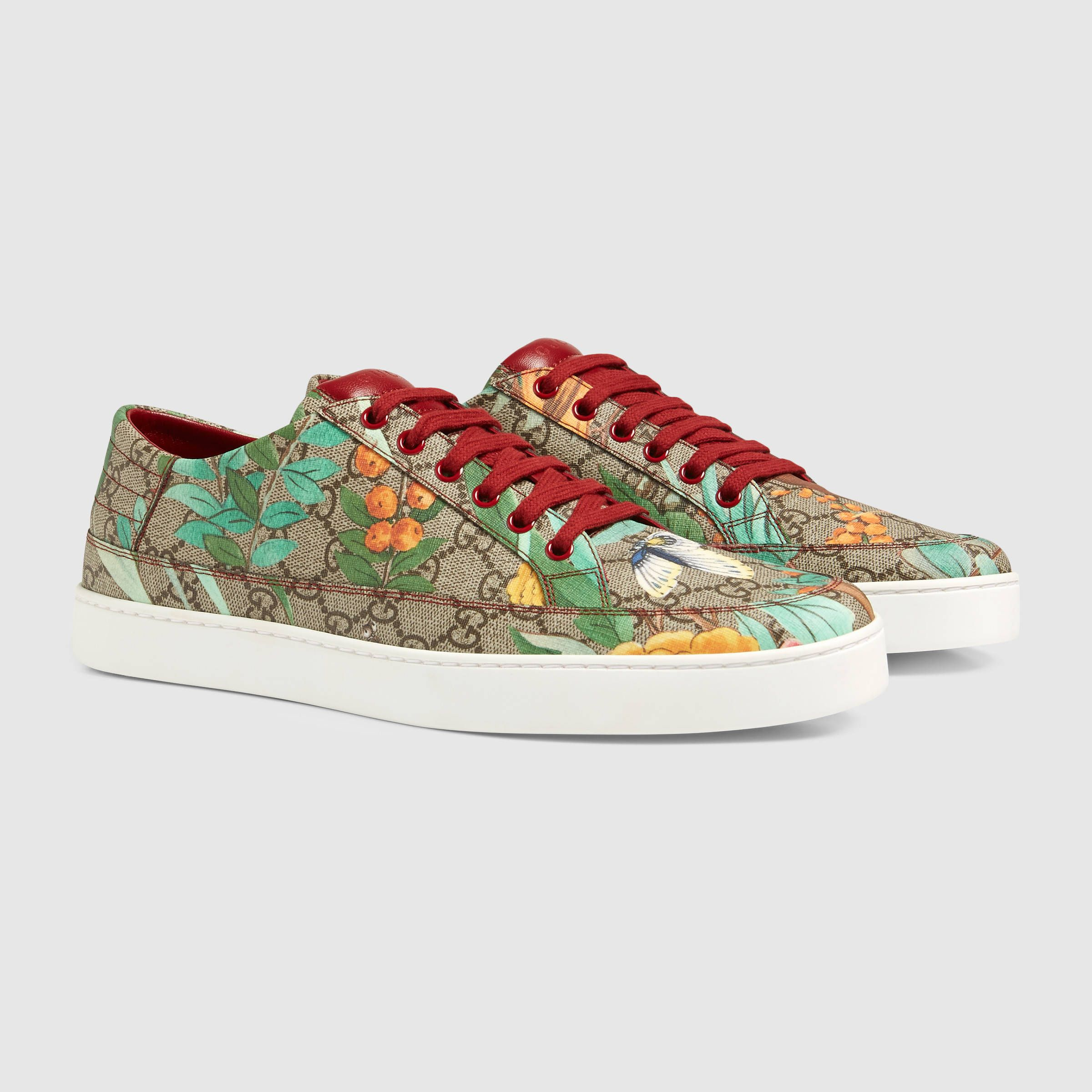 0eb07337c4d7a Men s Gucci Tian low-top sneaker
