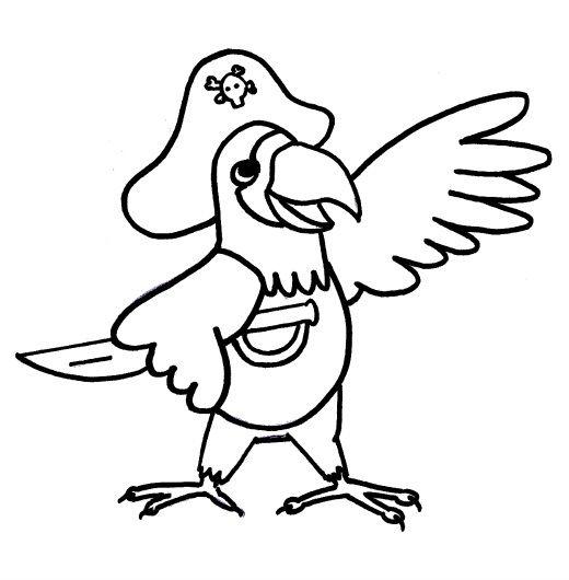 Pirate Parrot Parrots Pinterest