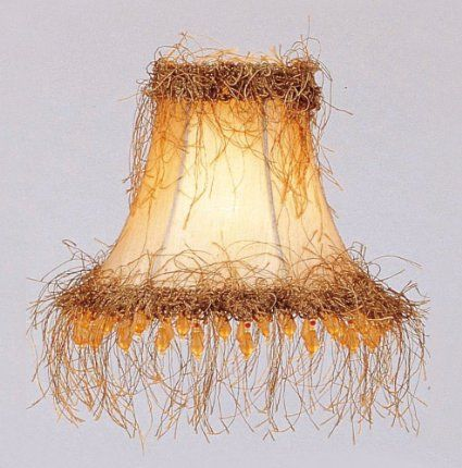 Livex lighting s112 bell clip chandelier shade with light corn silk livex lighting s112 bell clip chandelier shade with light corn silk fringe and beads champagne mozeypictures Image collections