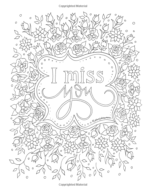 Amazon.com: Missing You: An Adult Coloring Book for Grief