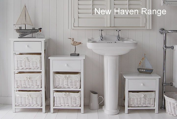 New Haven Range Of Bathoom Furniture Range Of Sizes Of White Freestanding Cabinets Muebles Bonitos Cuarto De Bano Muebles