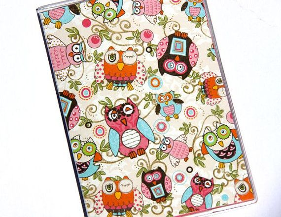 """OMG MORE OWLS!!! """"I'm looking for and adorable passport cover. I think this qualifies."""""""