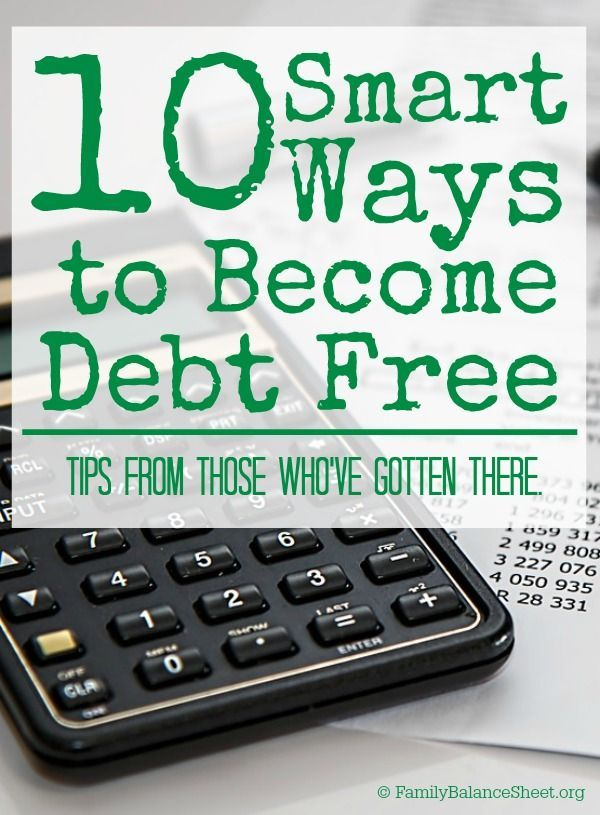Smart Ways To Become Debt Free  People Saving Money And Frugal