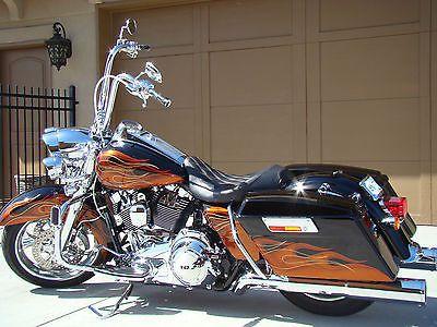 Harley Road King 2014 Flames Google Search Harley Bikes Motorcycle Harley