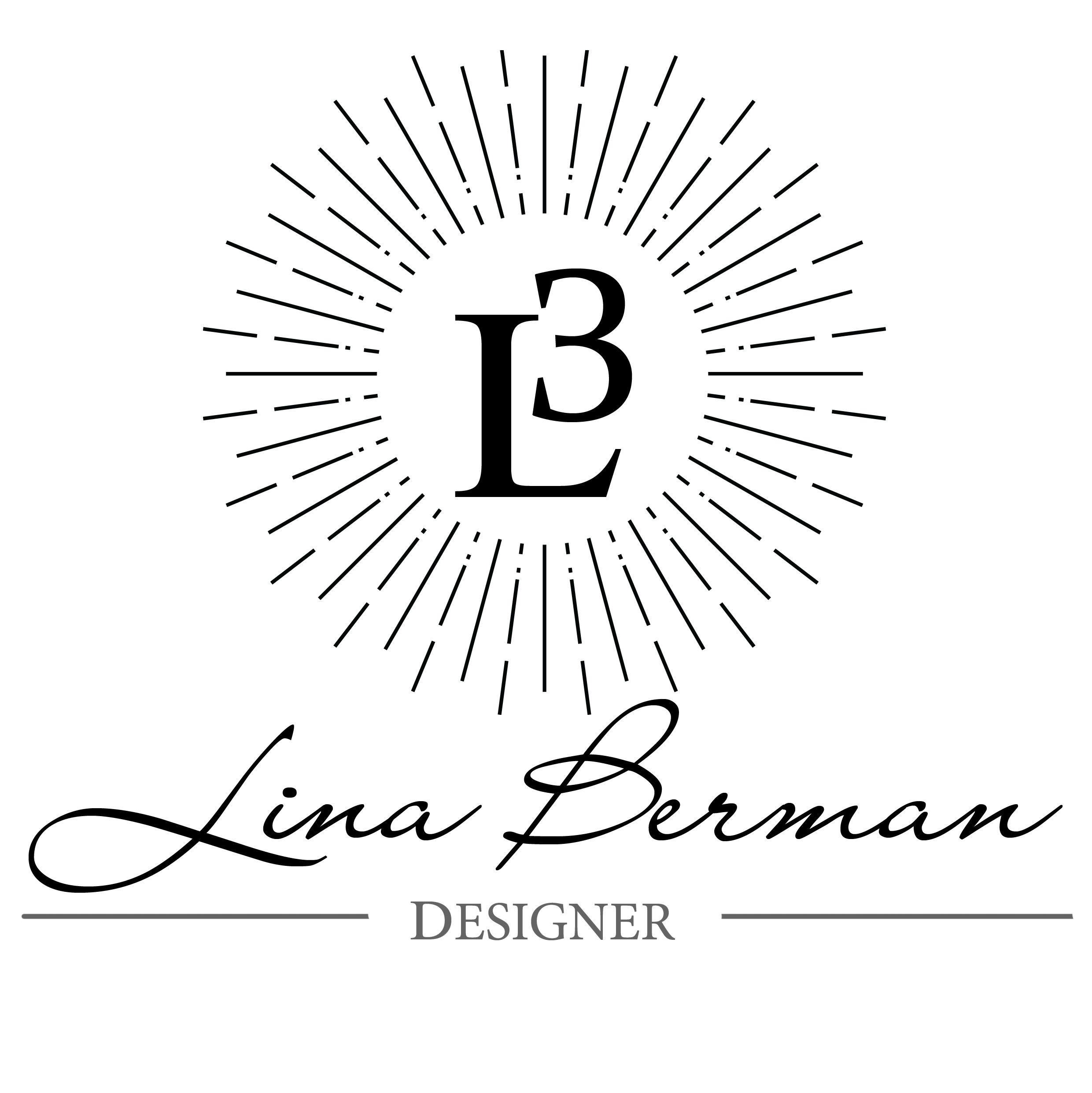 Logo. lina berman. logo design. designer.