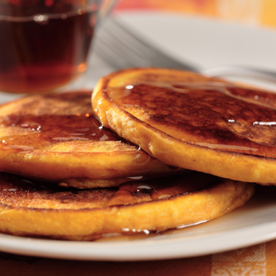 Photo of Pumpkin-Orange Pancakes