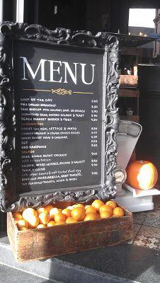 Great Cafes Cafe menu, Bistro menu, Restaurant specials