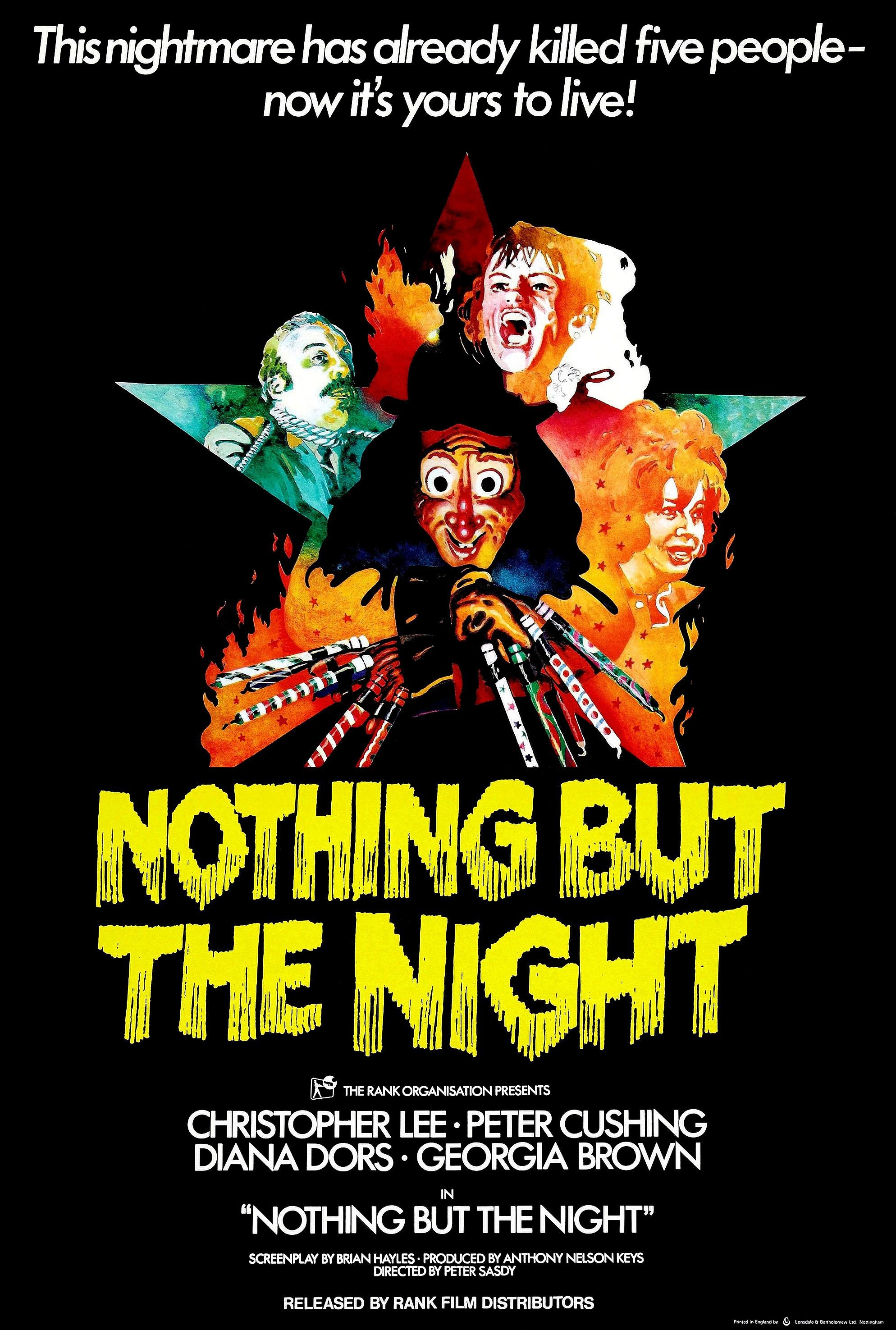 Nothing But the Night (1973) Movie posters, Horror