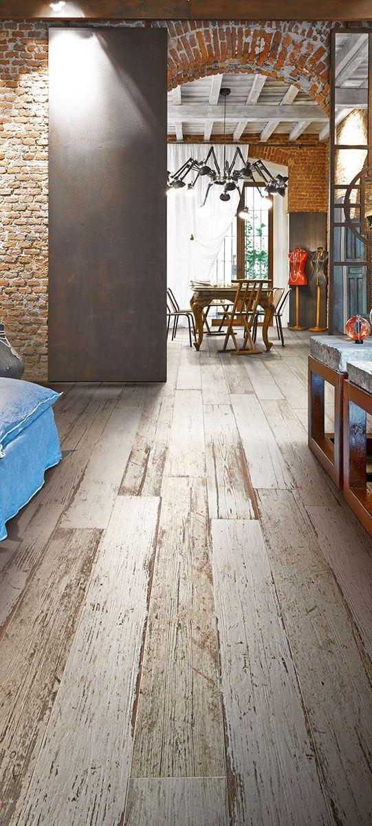 Ceramica sant 39 agostino piastrelle ceramiche da pavimento e rivestimento gres porcellanato - Rivestimento cucina effetto legno ...