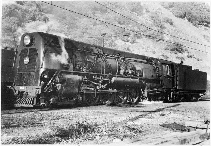 Ka Class Steam Locomotive New Zealand Railways No 949 4