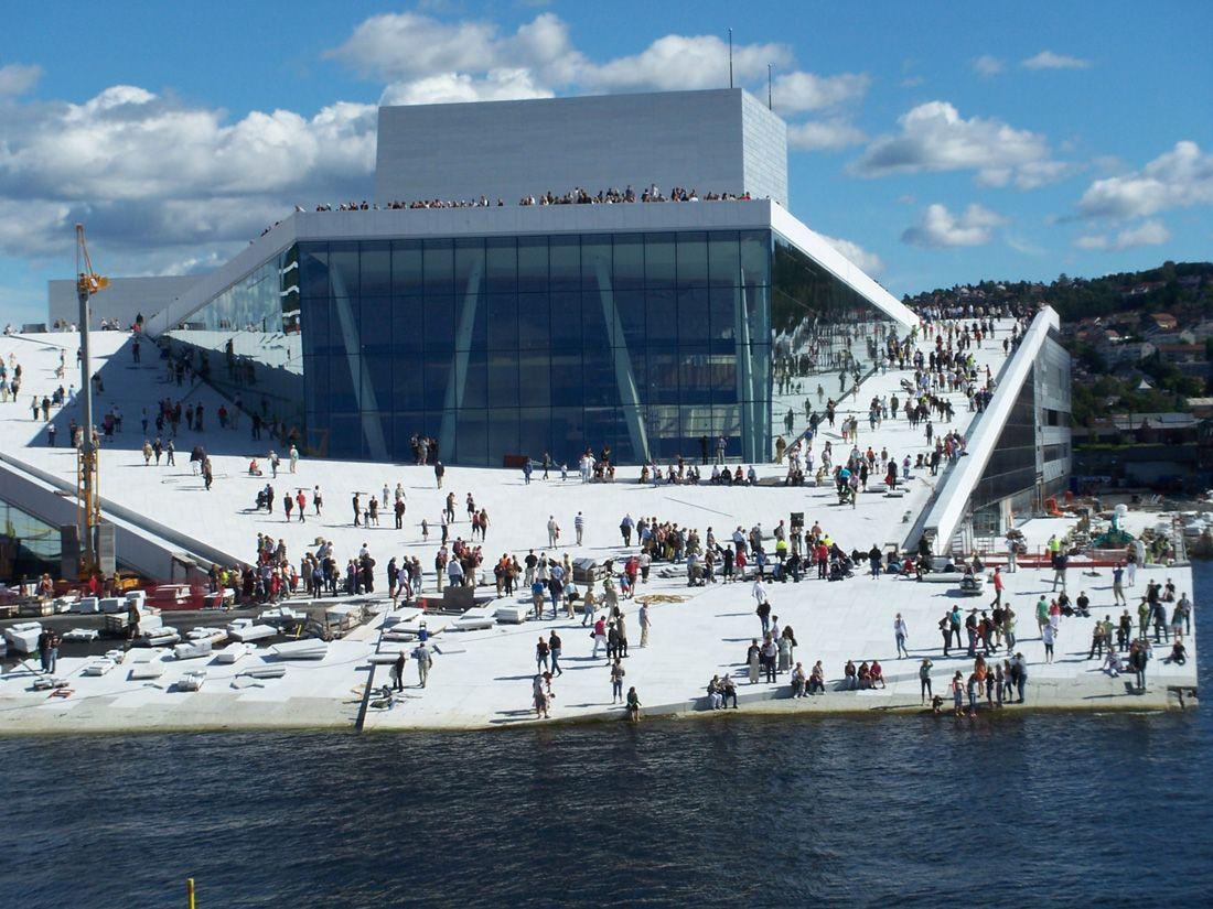 Oslo Opera House Snohetta Oslo Opera House Opera House Architecture Architecture