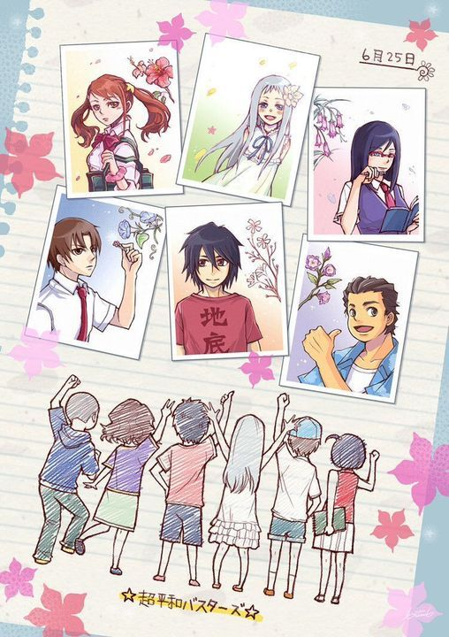 Ảnh Anime Đẹp ( 2 ) - Anohana