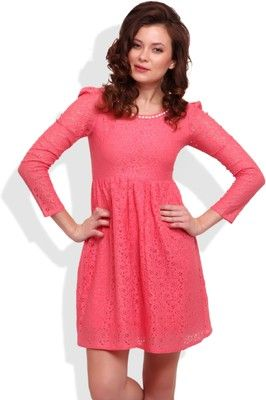 b2e22727a1 Buy Street9 Women s Empire Waist Dress Online at Best Offer Prices   Rs.  999