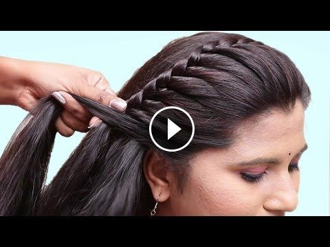 Easy Hairstyles For Wedding Party Hair Style Girl Hairstyles For Girls Cute Hairst Braided Hairstyles Easy Braided Hairstyles Updo Side Braid Hairstyles