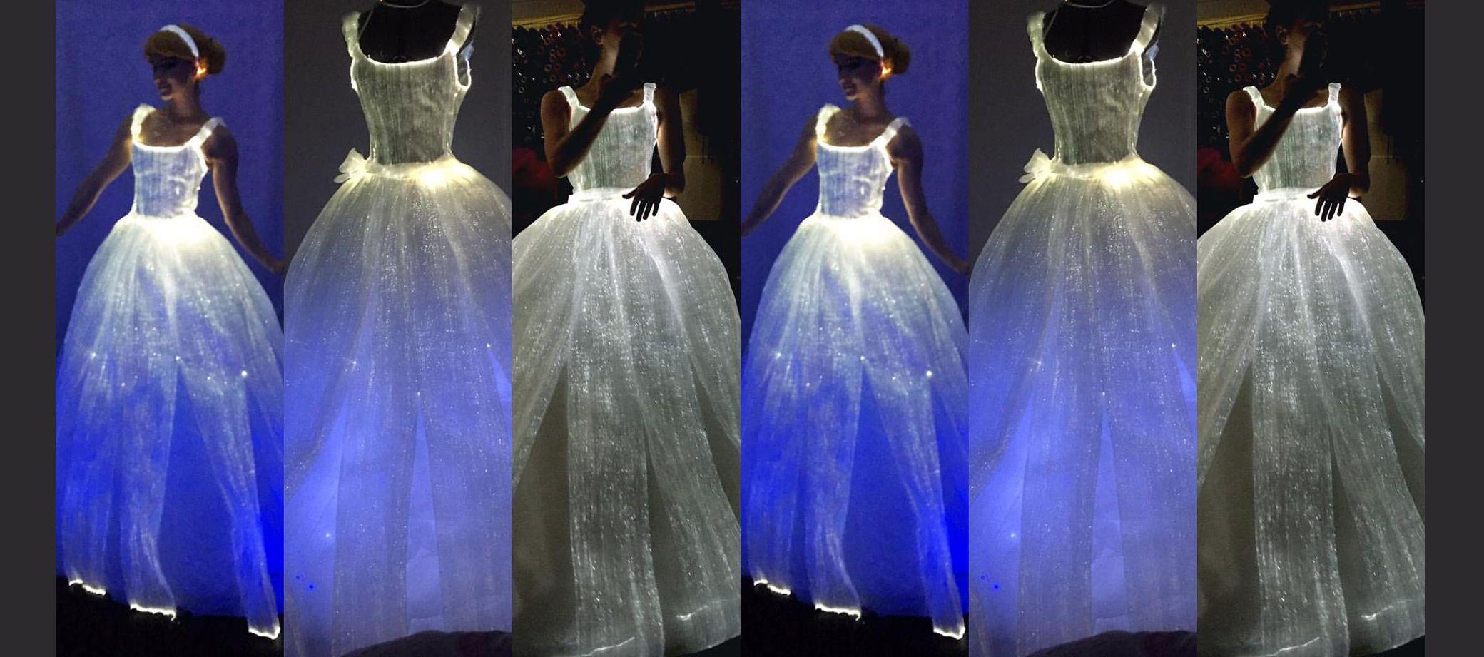 Light up wedding dress  I Made This Couture Light Up Wedding Dress In Less Than A Week