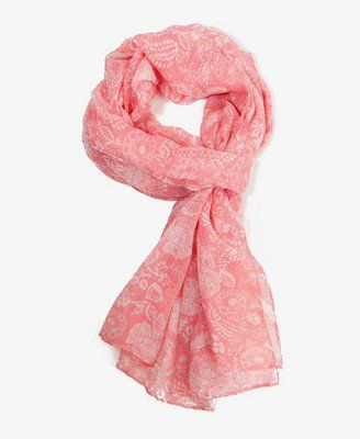 Abstract Floral Scarf | FOREVER 21