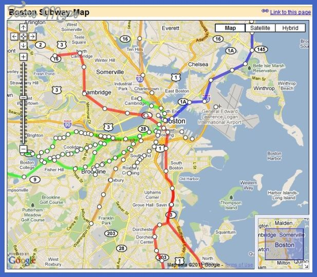 Interactive Boston Subway Map.Boston Subway Map With Streets Fysiotherapieamstelstreek