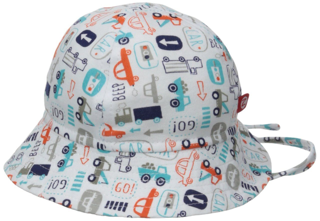 Amazon.com  Zutano Baby-Boys Infant Beep Beep Sunhat 348b5b387eb