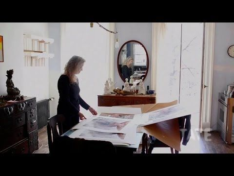 'I don't question my impetus...I just do it and see what happens,' says Kiki Smith From her home in New York, which also serves as her studio, Kiki Smith tal...