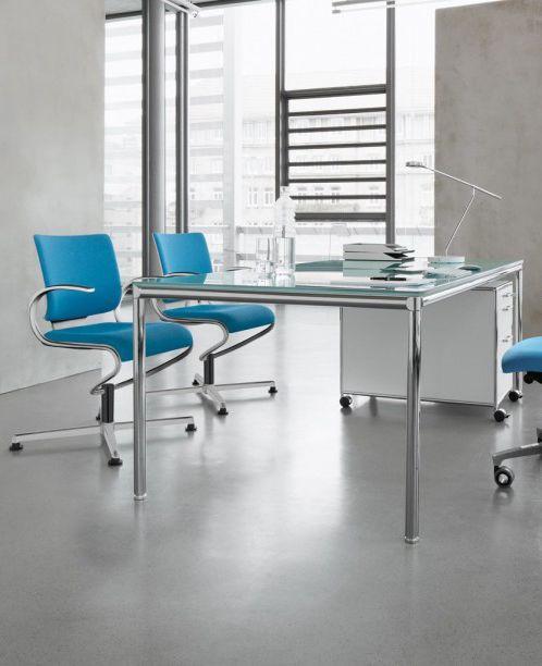 Design-Konferenzstuhl Dauphin InTouch | Besprechungsraum Büro ...