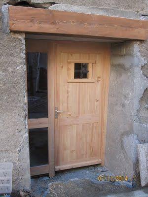 Portes - artisan menuisier Bois Savoie Fabrication et pose de