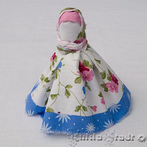 Куклa Утешницa на основе столбушки
