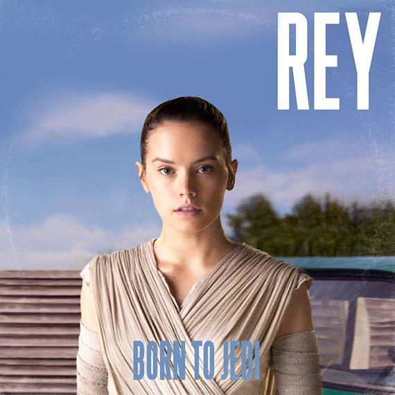 Star Wars Daisy Ridley Rey Lana Del Rey Vinyl Record Etsy Vinyl Record Album Covers Album Covers Lana Del Rey Vinyl