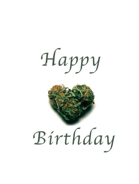 Happy Birthday Marijuana : happy, birthday, marijuana, Designs, DopedayCards.com
