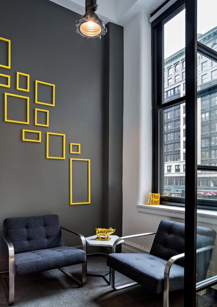 Office Tour: Daily Burn Offices – New York City #wallpaintingideas